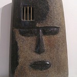 THE MAN IN THE IRON MASK - Belgian marble, brass