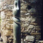 GREEN MADONNA - Corsican marble